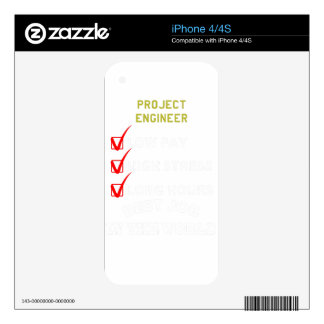 project engineer decal for the iPhone 4