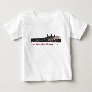 Project Enlighten Cambodia Sarus Crane Baby T-Shirt