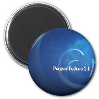 Project Fedora 2.0 2 Inch Round Magnet