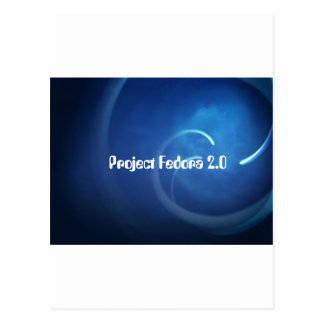 Project Fedora 2.0 Postcard