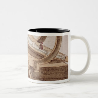 Project for a cannon Two-Tone coffee mug