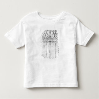 Project for the Cathedral, elevation of the west Toddler T-shirt