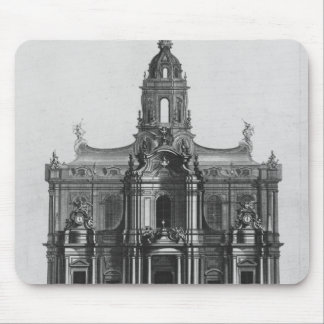 Project for the church of Saint-Sulpice Mouse Pad