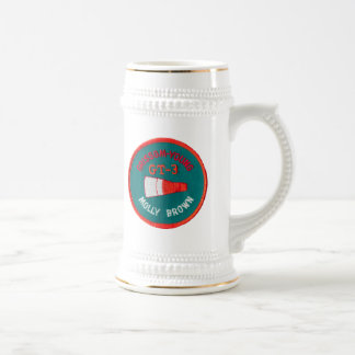 Project Gemini:  GT 3: Grissom / Young Beer Stein