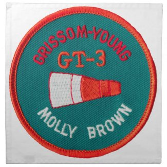 Project Gemini: GT 3: Grissom / Young Cloth Napkin