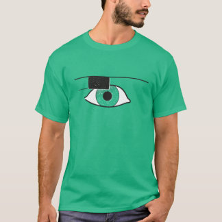 Project Glass | Google Glass - Universe Green T-Shirt