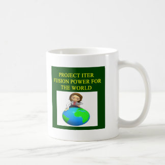 project iter nuclear fusion reactor coffee mugs