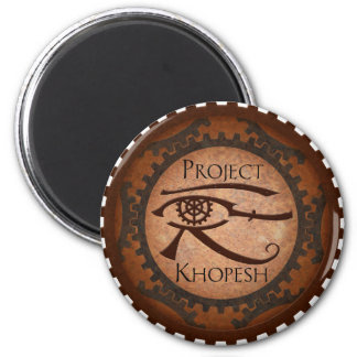Project Khopesh 2 Inch Round Magnet