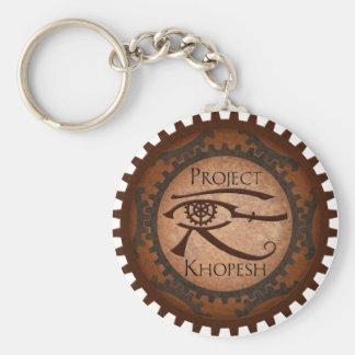 Project Khopesh Basic Round Button Keychain