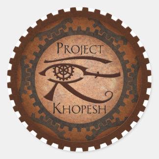 Project Khopesh Classic Round Sticker