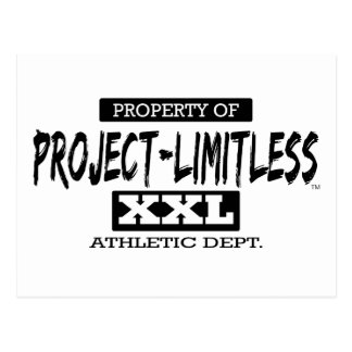 Project Limitless XXL Athletic Dept. Postcard
