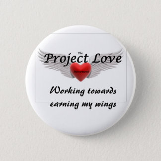 Project Love Pinback Button