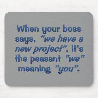 Project Management Mouse Pad