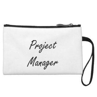 Project Manager Artistic Job Design Wristlet Clutch