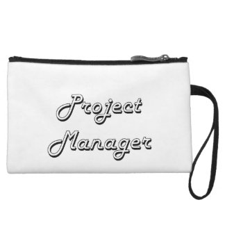 Project Manager Classic Job Design Wristlet Clutches