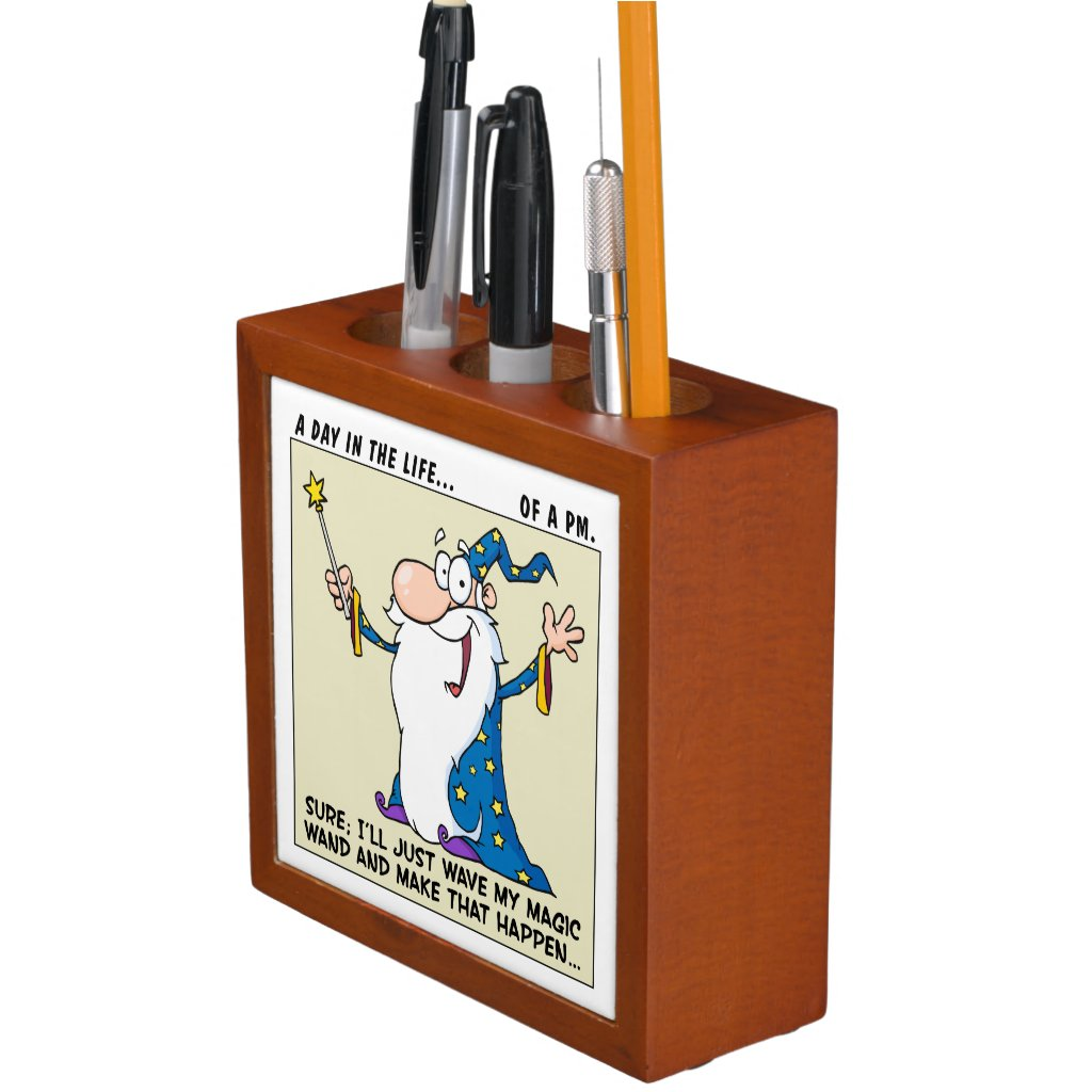 Project Manager Magical Powers Desk Organizer