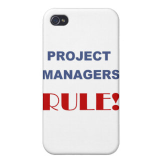 Project Manager Rule! Cases For iPhone 4