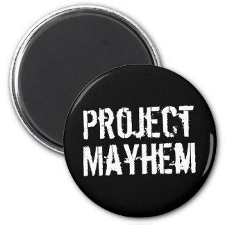 Project Mayhem 2 Inch Round Magnet