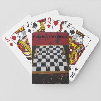 Project Mayhem Playing Cards