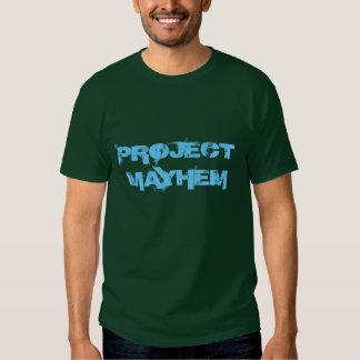 """""""Project Mayhem"""" t-shirt"""