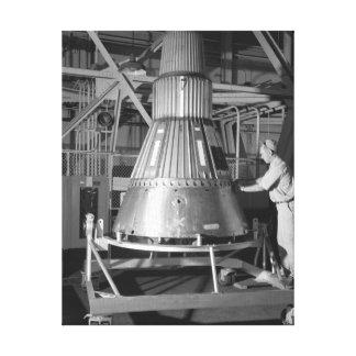 Project Mercury - Capsule #2 Photograph Canvas Print
