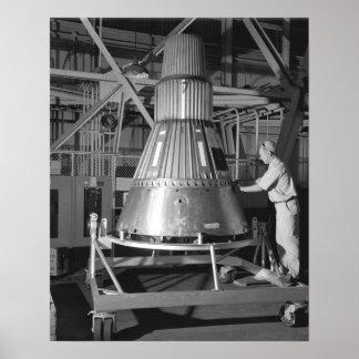 Project Mercury - Capsule #2 Photograph Print