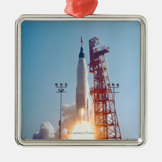 Project Mercury MA-9 Launch, Faith 7 Metal Ornament