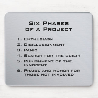 Project Phases Mouse Pad