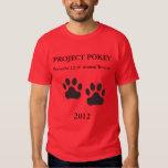 Project Pokey 2012-Red Tshirt