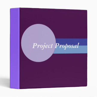 Project Proposal Binder