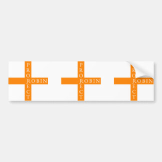 Project Robin Bumper Sticker