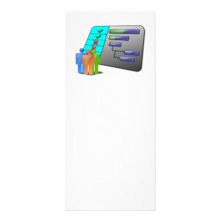 project_schedule_Vector BUSINESS OFFICE WORK TEAM Custom Rack Cards