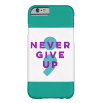 Project Semicolon Never Give Up Suicide Prevention Barely There iPhone 6 Case