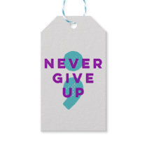 Project Semicolon Never Give Up Suicide Prevention Gift Tags
