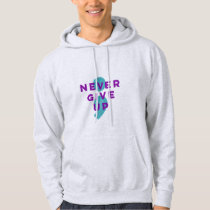 Project Semicolon Never Give Up Suicide Prevention Hoodie