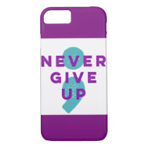 Project Semicolon Never Give Up Suicide Prevention iPhone 8/7 Case