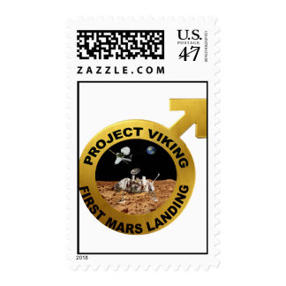Project Viking: First Landing on Mars Postage