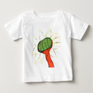 Projected Sunflower Baby T-Shirt