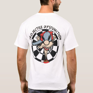 Projectile Dysfunction Darts Team T-Shirt