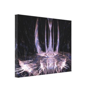 Projection Image Canvas Print