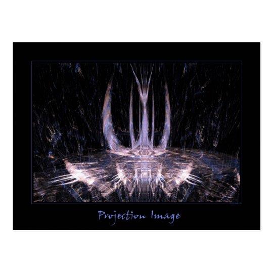 Projection Image Postcard
