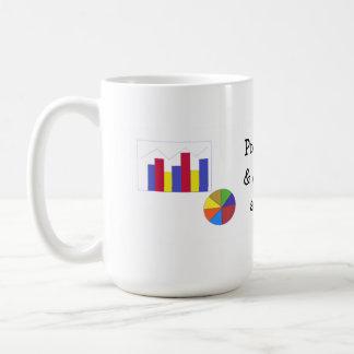 Projection Marketing Strategy Graph Coffee Mug