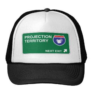 Projection Next Exit Mesh Hats
