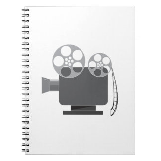 Projector Spiral Note Book