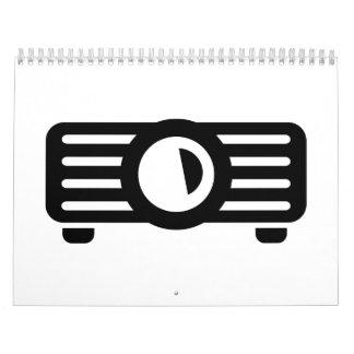 Projector presentation calendar