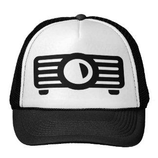 Projector presentation mesh hat