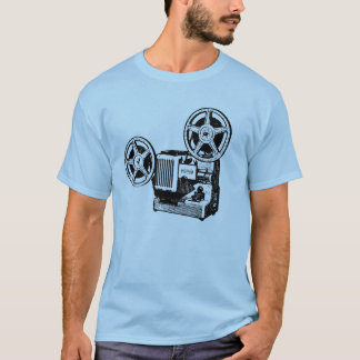 Projector Vintage Illustration Tee