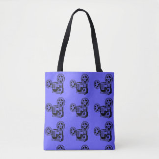 Projector Vintage Illustration Tote bag