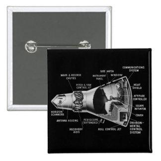 Projecy Mercury Cutaway Button