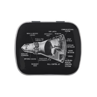 Projecy Mercury Cutaway Jelly Belly Candy Tins